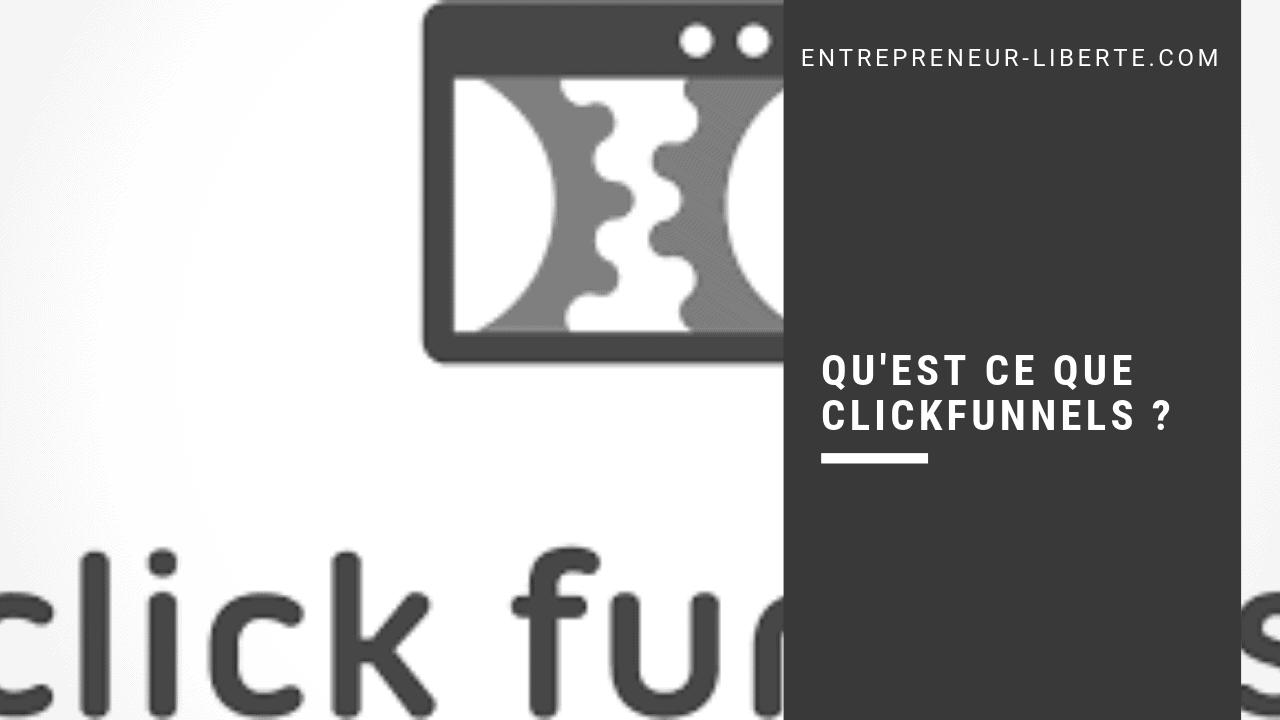 Qu'est ce que Clickfunnels
