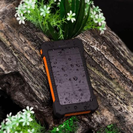 Batterie solaire pour recharger son téléphone portable : idée de produit pour Shopify