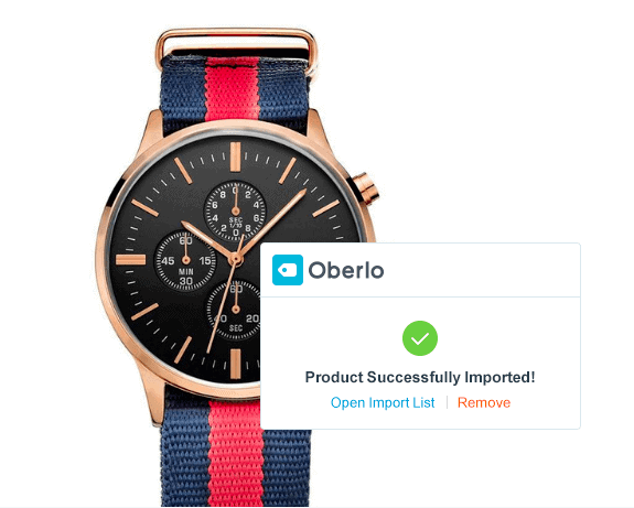 Importation facile d'un produit sur Shopify grâce à Oberlo
