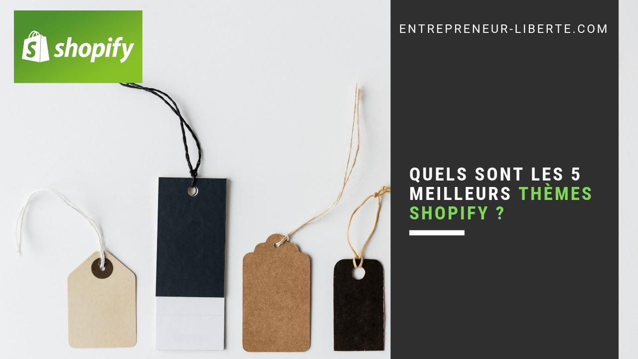 Quels sont les meilleurs thèmes Shopify ?