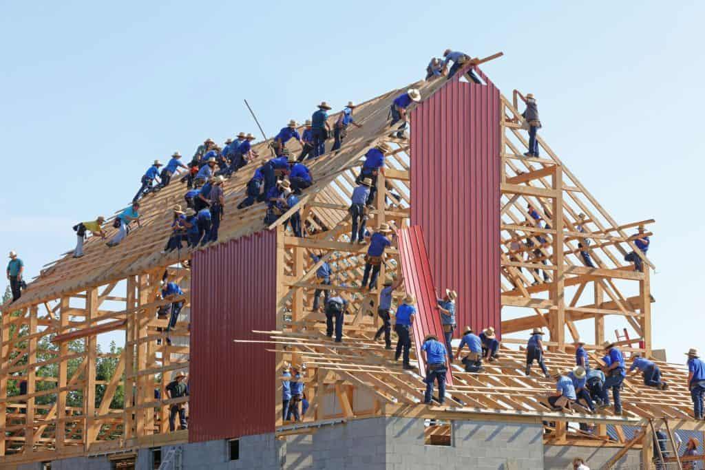 Réussir sur Shopify analogie de la construction d'une maison