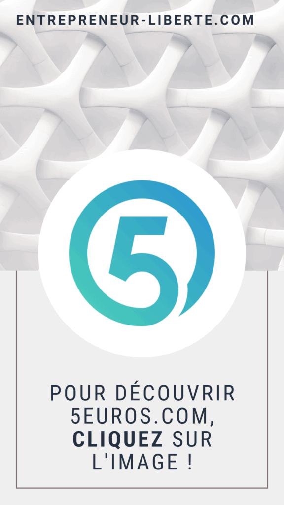5euros.com, une plateforme de micro services pour gagner de l'argent depuis chez soi