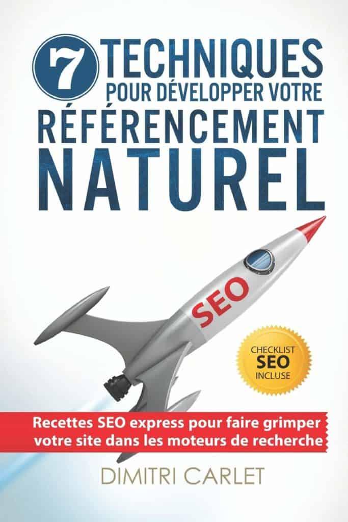 Dimitri Carlet propose un livre parmi les best-sellers en termes de SEO