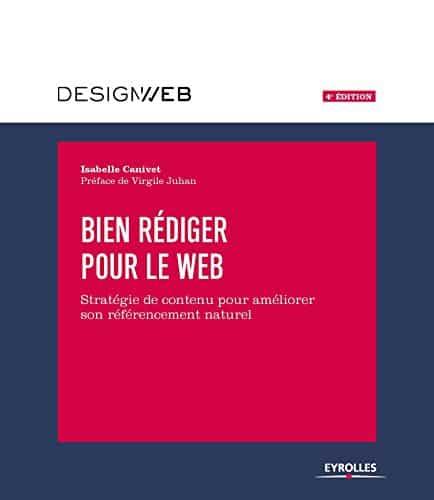 """Isabelle Canivet et son livre """"Bien Rédiger Pour Le Web"""" est une référence en livre SEO"""