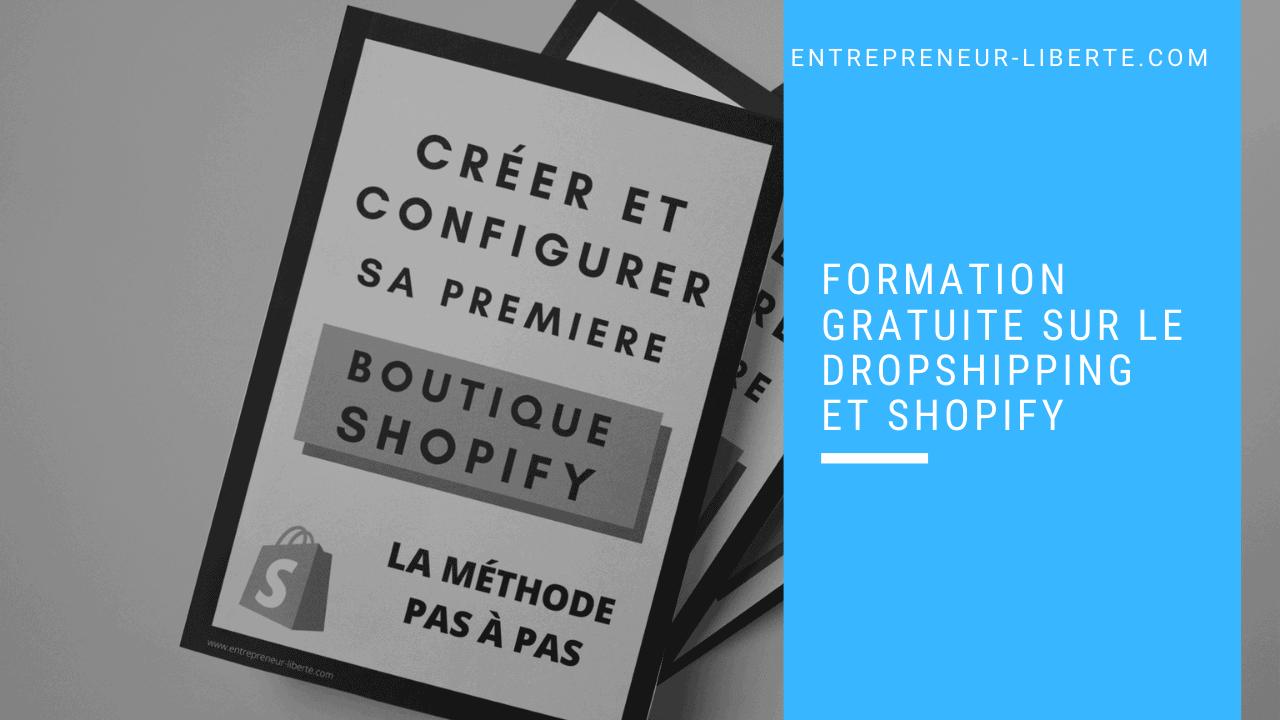 Formation gratuite sur le Dropshipping et Shopify