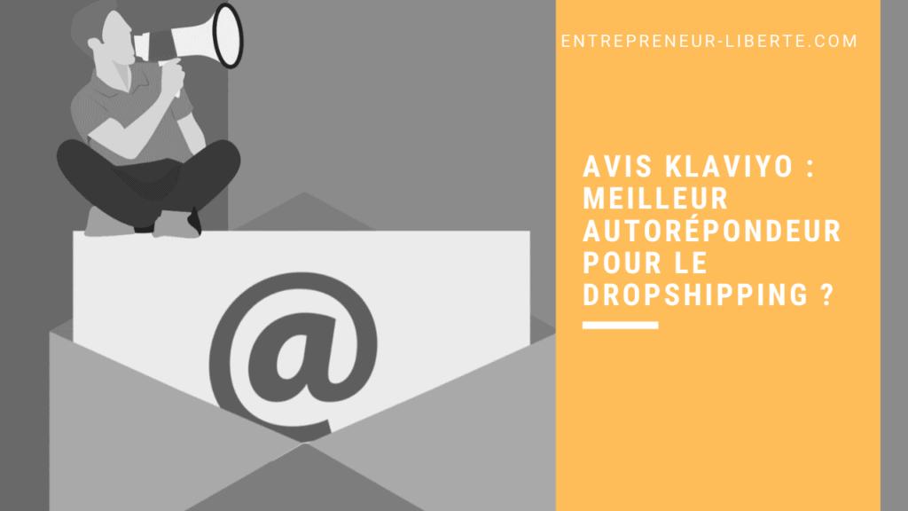 Avis Klaviyo _ meilleur autorépondeur pour le dropshipping