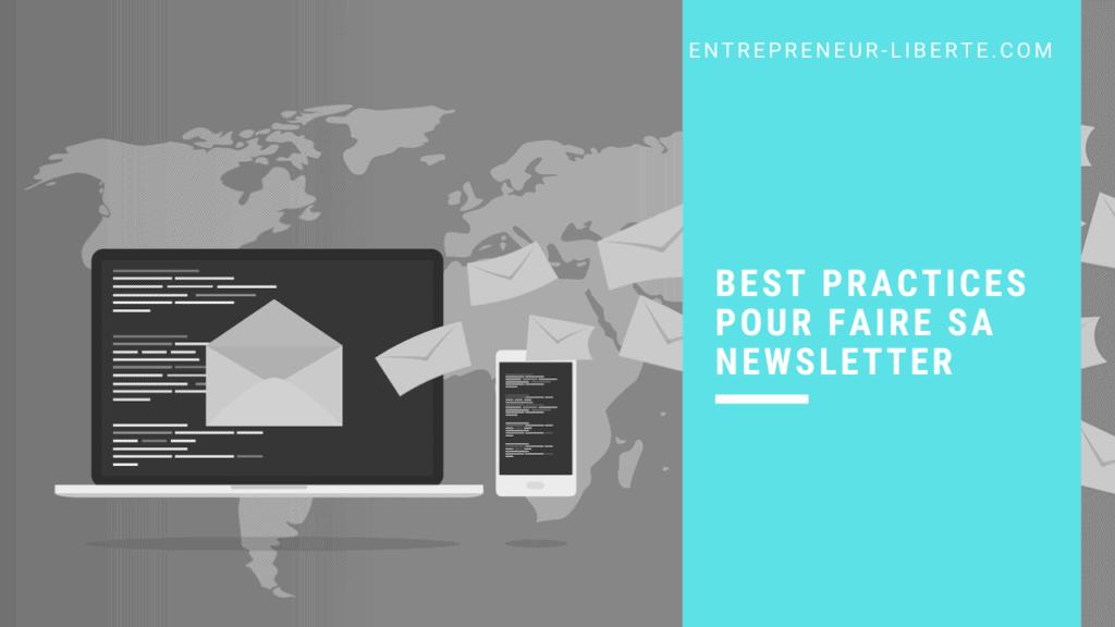 Best practices pour faire sa newsletter