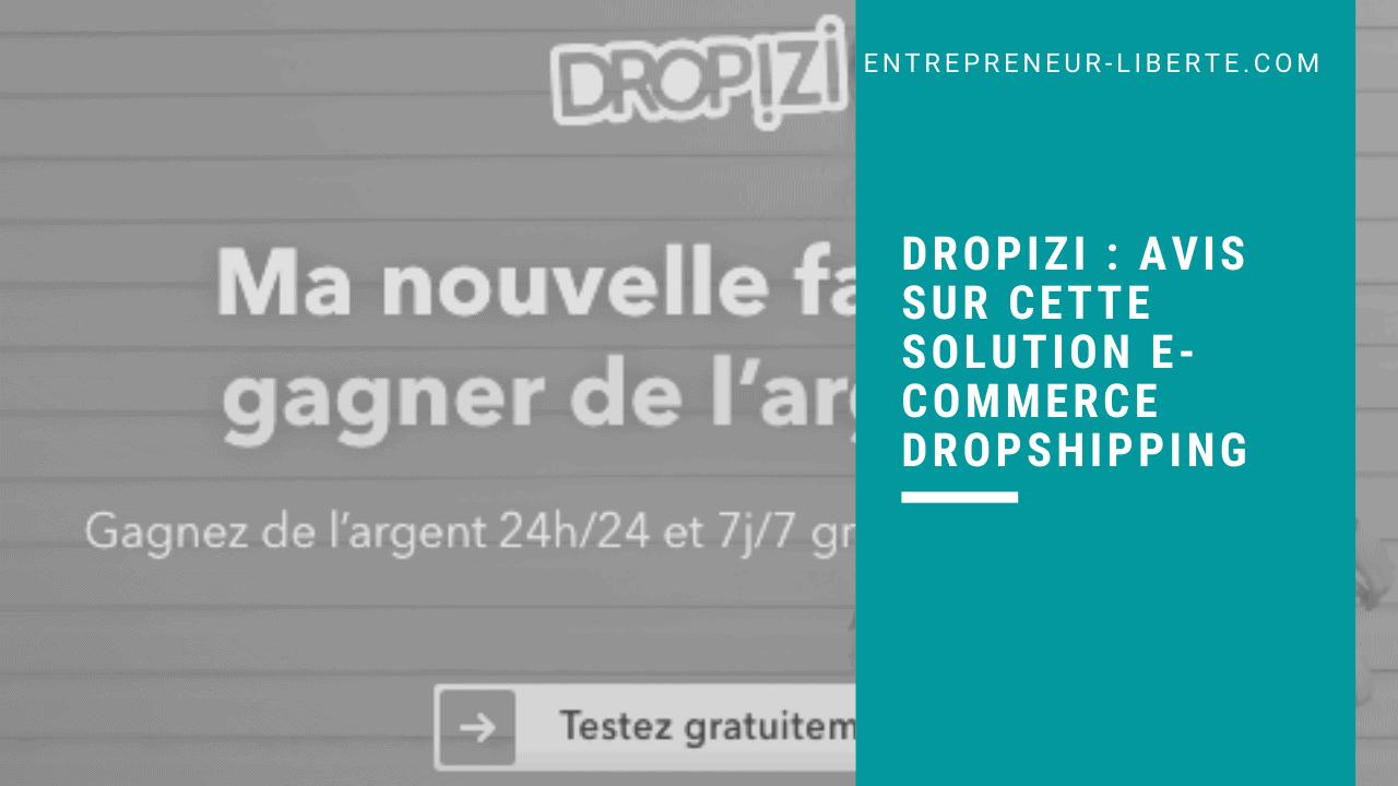 Dropizi _ avis sur cette solution e-commerce dropshipping