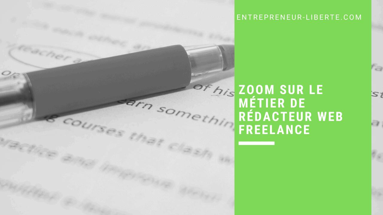 Zoom sur le métier de rédacteur web freelance