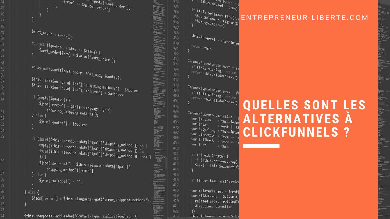 Quelles sont les alternatives à ClickFunnels