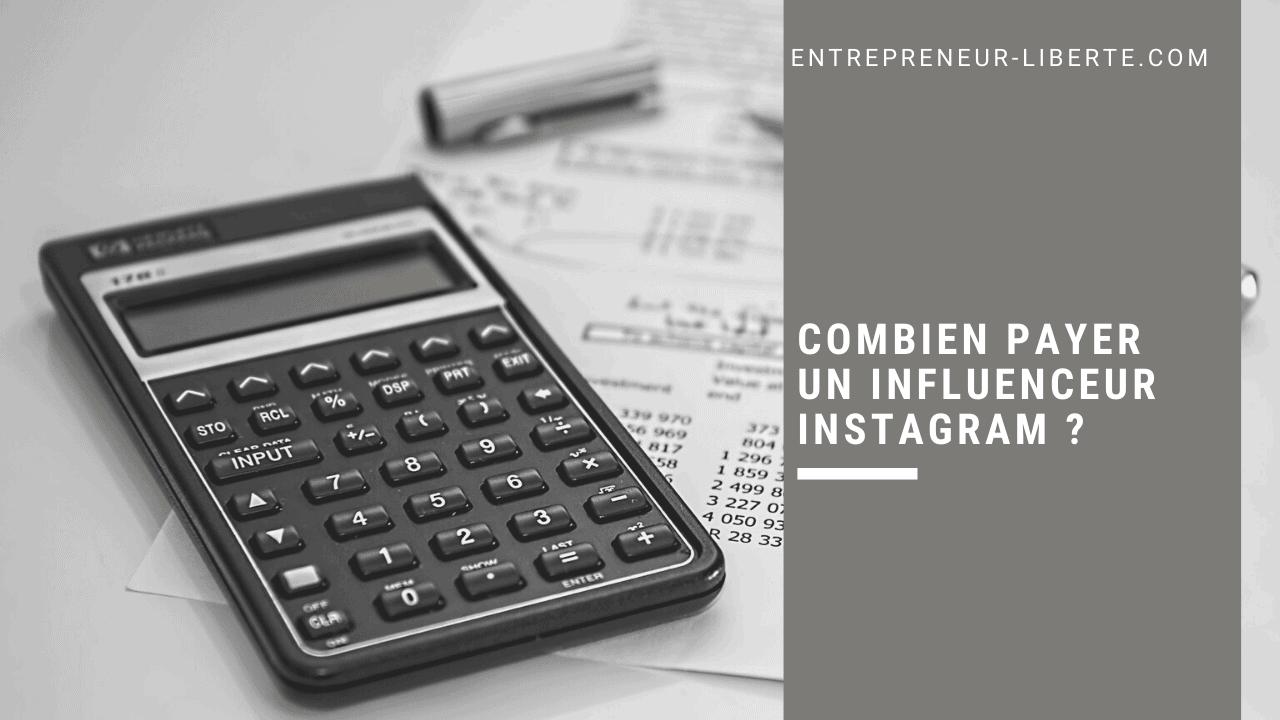 Combien payer un influenceur Instagram