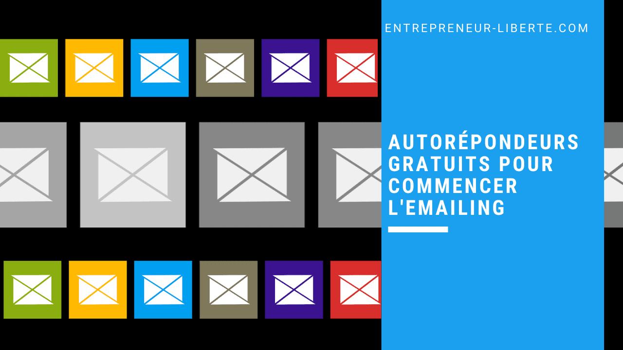 6 autorépondeurs gratuits pour commencer l'emailing