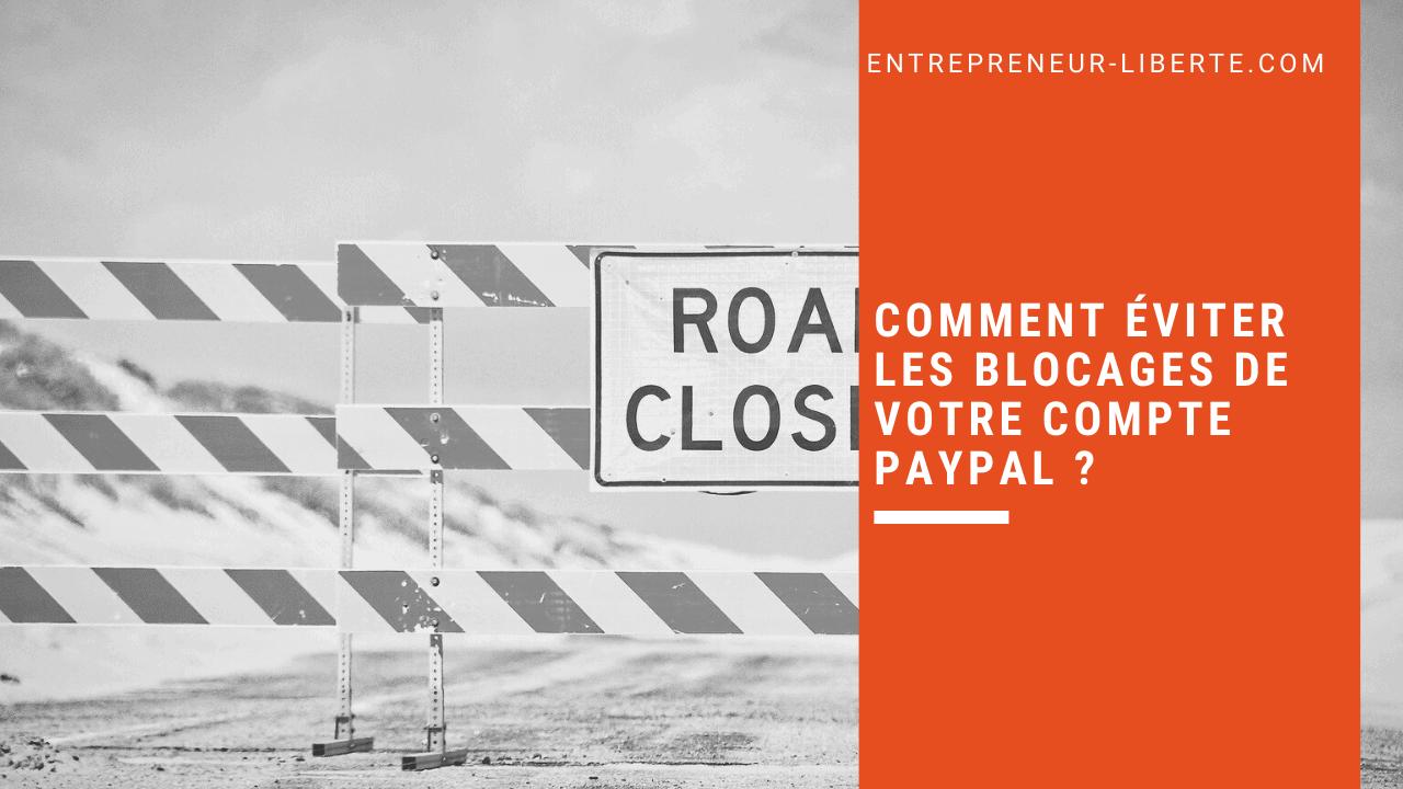 Comment éviter les blocages de votre compte PayPal