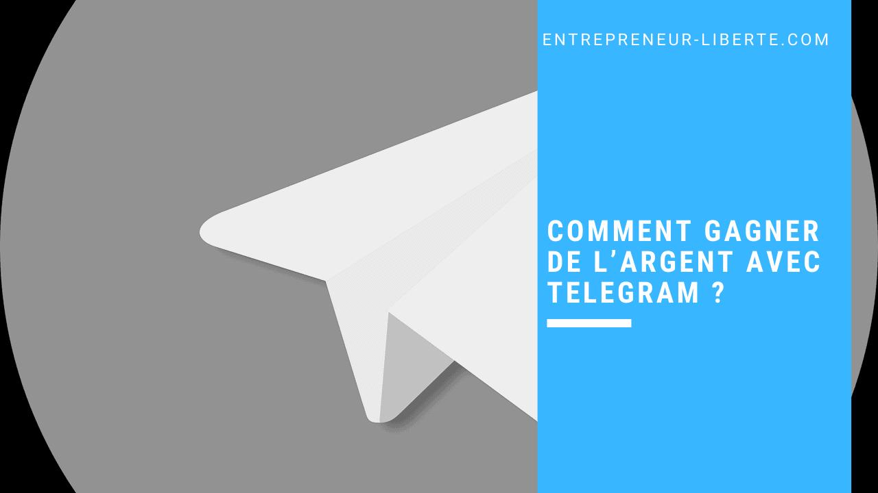 Comment gagner de l'argent avec Telegram