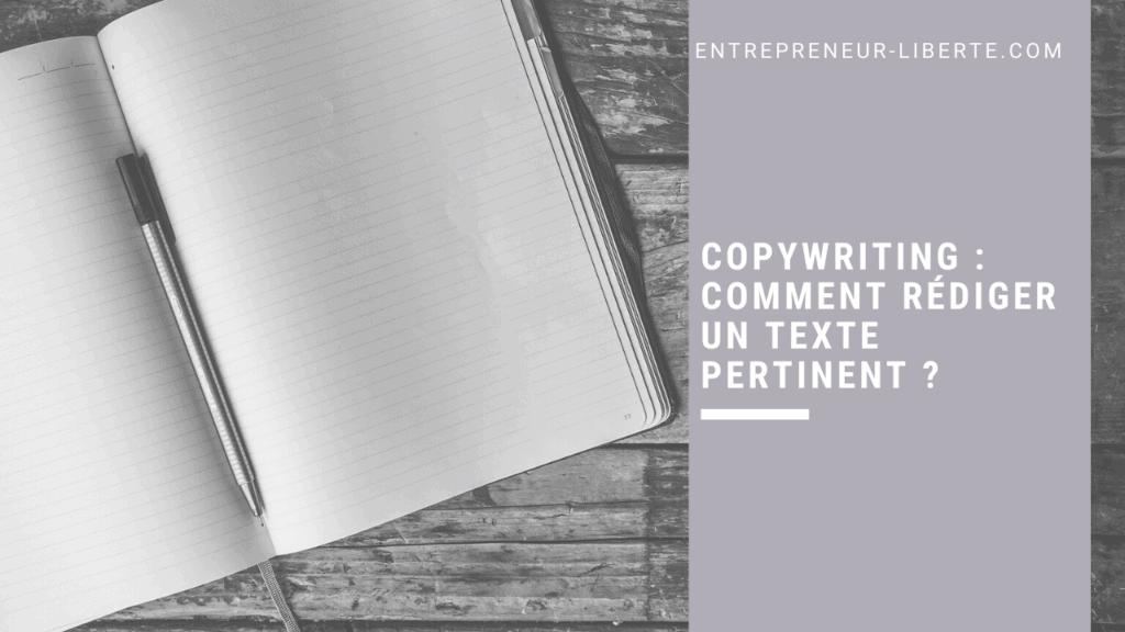 Copywriting _ comment rédiger un texte pertinent